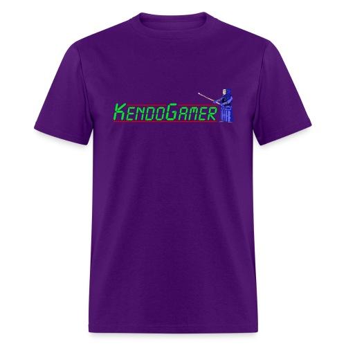KendoGamer Original T-Shirt - Purple - Men's T-Shirt