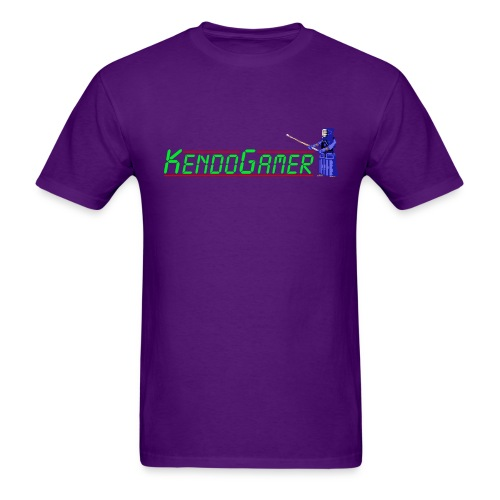 KendoGamer Original T-Shirt - Purple - Men's T-Shirt