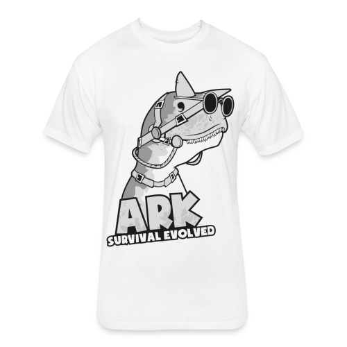 Ark Survival Evolved T-Shirt Premium FR33BORNGAMING - Fitted Cotton/Poly T-Shirt by Next Level