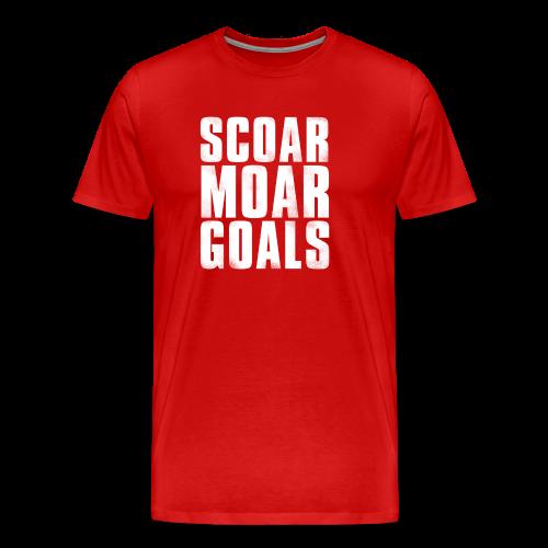 Scoar Moar Goals (3XL- Plus Sizes) - Men's Premium T-Shirt