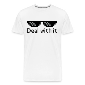 Deal with it shirt - Men's Premium T-Shirt
