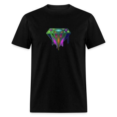 Dripping Diamond Colorful - Men's T-Shirt
