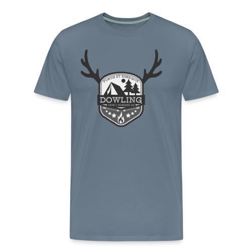 Men's Blue Shirt - Men's Premium T-Shirt