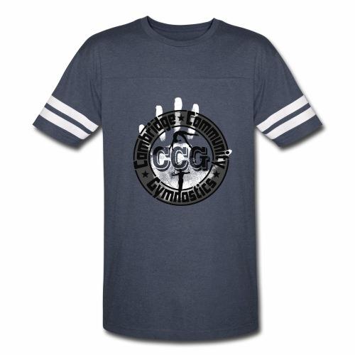 CCG Logo - Men's Ringer Sleeve - Vintage Sport T-Shirt