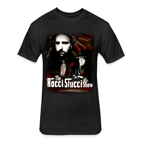 The Rocci Stucci Show - Fitted Cotton/Poly T-Shirt by Next Level