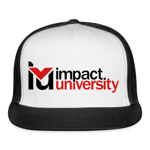 Impact Black Mesh Hat  - Trucker Cap