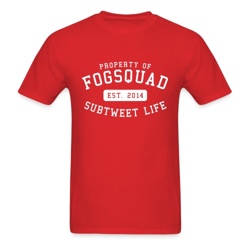 Property Of The Squad Subtweet Life - Men's T-Shirt