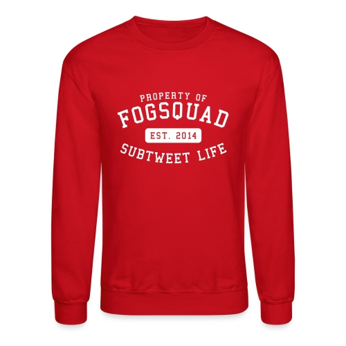 Property Of The Squad Subtweet Life - Crewneck Sweatshirt