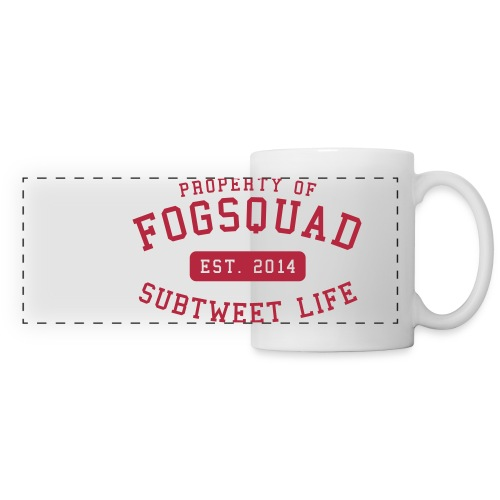 Property Of The Squad Subtweet Life - Panoramic Mug