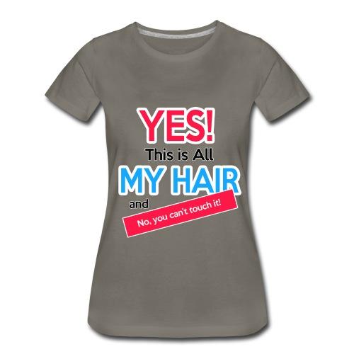 ourkinksrcurls - Women's Premium T-Shirt