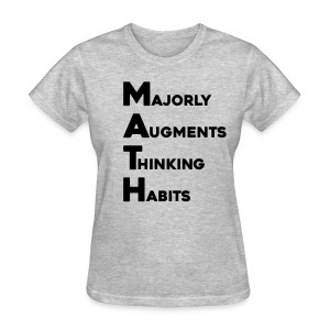 Math Womens Light - Women's T-Shirt