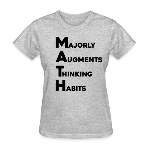 Math Womens Light - Women's T-Shirt