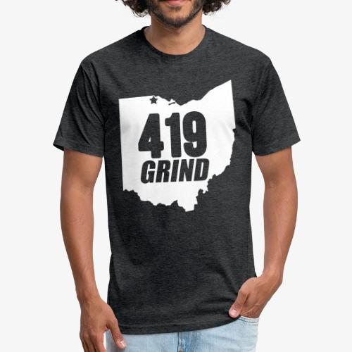 419 GRIND OHIO TEE - Fitted Cotton/Poly T-Shirt by Next Level