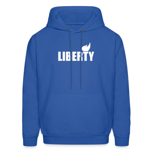 Liberty Men's Hoodie - Don't Blame Me on the Back - Men's Hoodie
