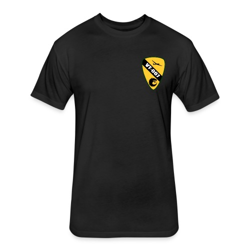 Poly Tshirt with Command Patch - Fitted Cotton/Poly T-Shirt by Next Level