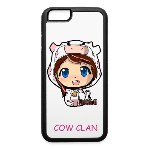 PinkCow Cell Phone Case - iPhone 6/6s Rubber Case