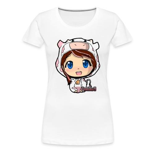 PinkCow T-Shirt - Women's Premium T-Shirt