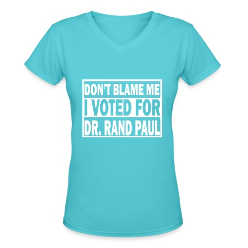 Women's Tee - Women's V-Neck T-Shirt