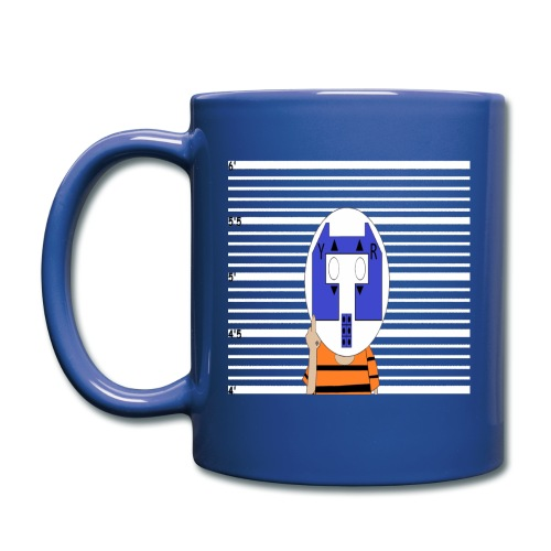 Blue Yung Rolo in Jail Mug - Full Color Mug