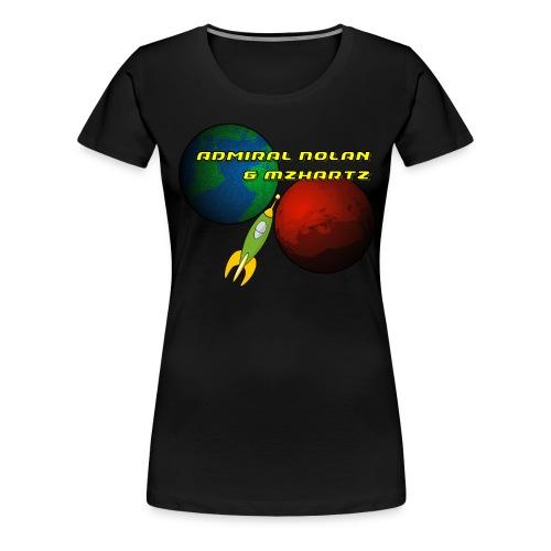 Stream Shirt Womens Black - Women's Premium T-Shirt