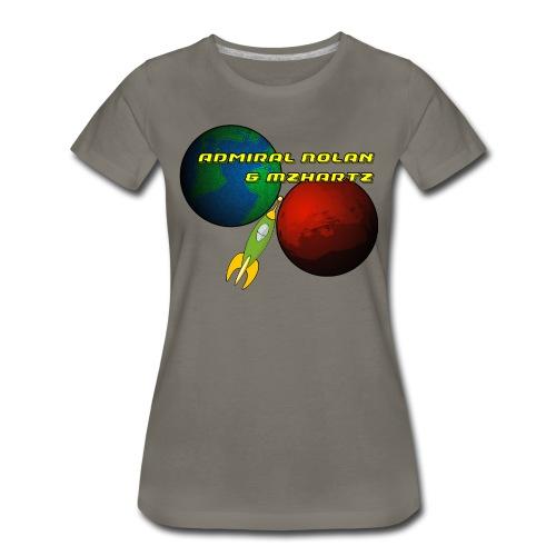 Stream Shirt Womens Grey - Women's Premium T-Shirt
