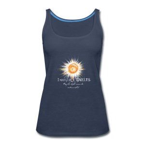 Invisible Battles Woman's Tank top - Women's Premium Tank Top