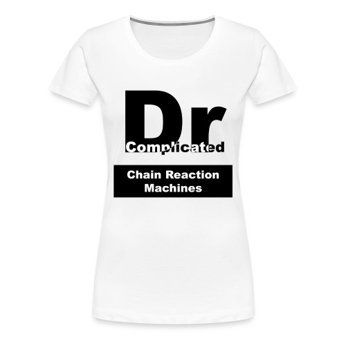 Classic DrComplicated White T-Shirt Womens - Women's Premium T-Shirt