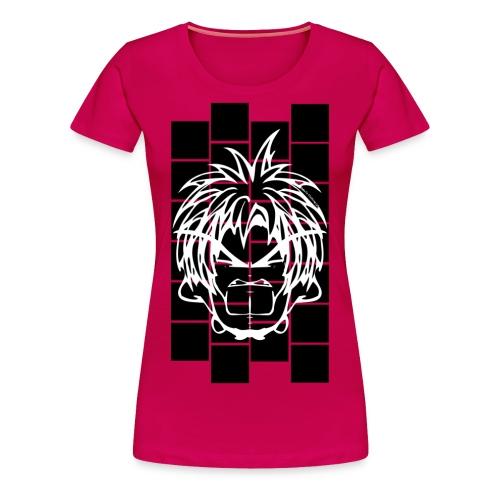 BFCC: Cube Lit Black Blocks - Women's Premium T-Shirt
