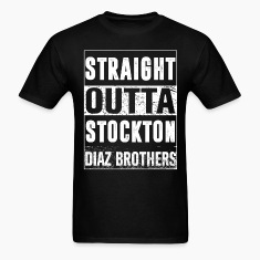 Diaz brothers straight outta stockton T-Shirts