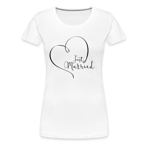 just married tshirt - Women's Premium T-Shirt