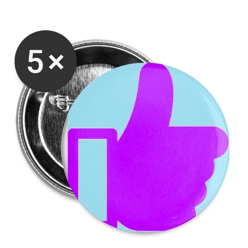 Give Purple Like It Pin - Small Buttons