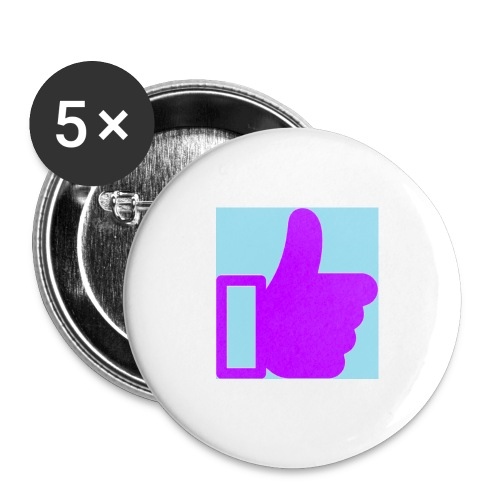 Give Purple Like It -Large Pin - Large Buttons