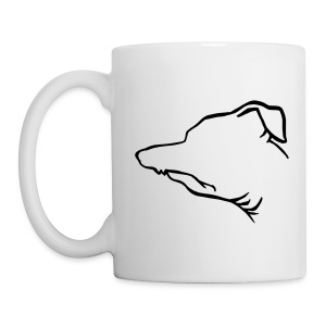 Tuna Profile Ceramic Mug - Coffee/Tea Mug