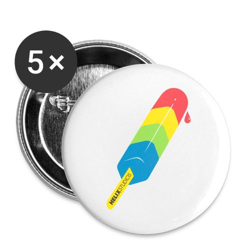 Pride Pop Pins - Large Buttons