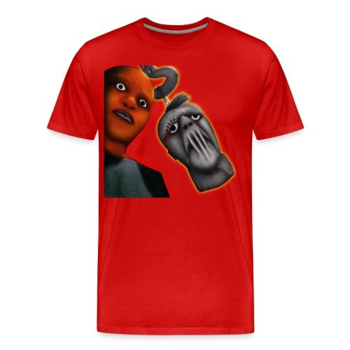 Swing Dee Diablo Killa Red T-Shirt - Men's Premium T-Shirt