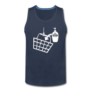 It puts the Lotion in the Basket shirt - Men's Premium Tank