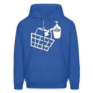 It puts the Lotion in the Basket shirt - Men's Hoodie