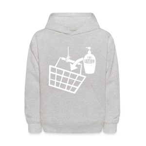 It puts the Lotion in the Basket shirt - Kids' Hoodie