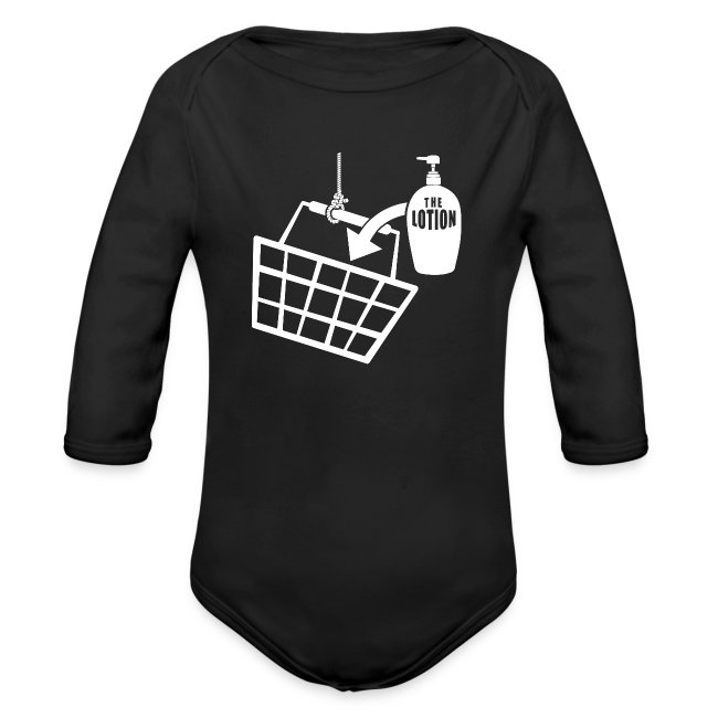 af12e3f975f33 It puts the Lotion in the Basket - Buffalo Bill | Organic Long Sleeve Baby  Bodysuit