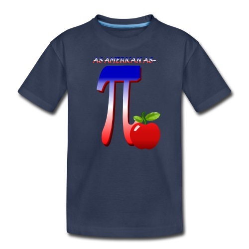 All American Pi - Kids' Premium T-Shirt