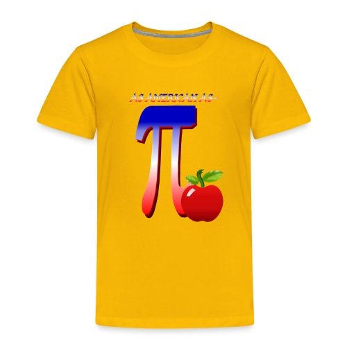 All American Pi - Toddler Premium T-Shirt