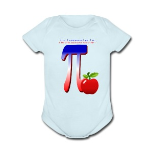 All American Pi - Short Sleeve Baby Bodysuit