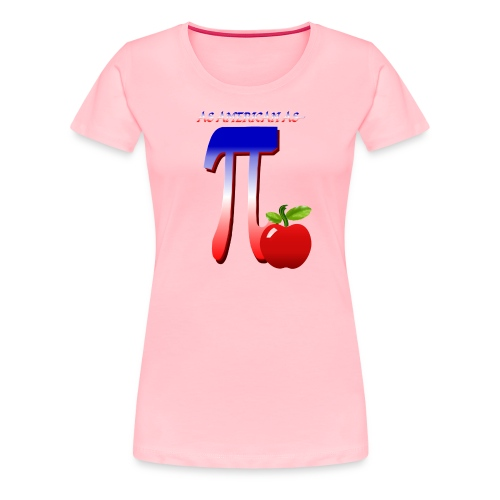 All American Pi - Women's Premium T-Shirt