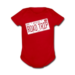 Official Road Trip Shirt - Short Sleeve Baby Bodysuit