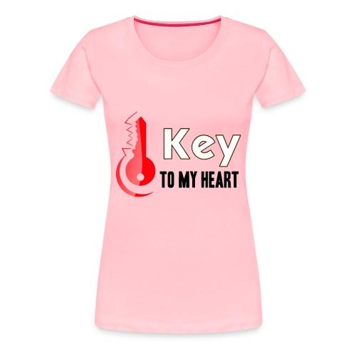 Key to my heart - Women's Premium T-Shirt