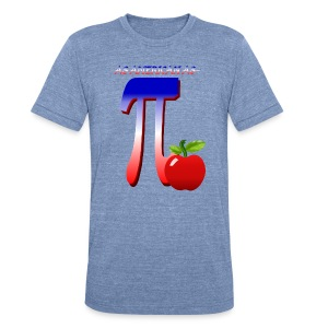 All American Pi - Unisex Tri-Blend T-Shirt by American Apparel