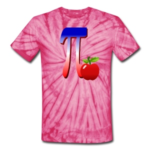 All American Pi-plain - Unisex Tie Dye T-Shirt