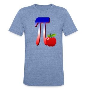 All American Pi-plain - Unisex Tri-Blend T-Shirt