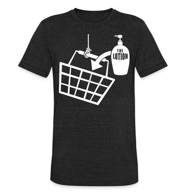 ab9dd0c53a97f It puts the Lotion in the Basket - Buffalo Bill | Unisex Tri-Blend T-Shirt