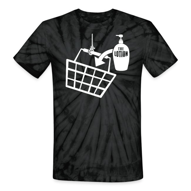 e810c49a6fc9c It puts the Lotion in the Basket shirt - Buffalo Bill | Unisex Tie Dye  T-Shirt